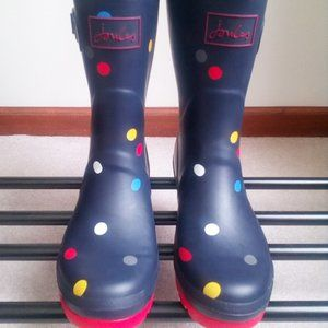 JOULES Women Molly Welly Rain Boots - NEW NWOB